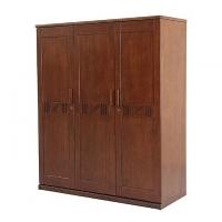 Allex Furniture Wood 3 Palla Almirah AF-WD-A-15