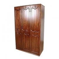 Allex Furniture Wood 3 Palla Almirah AF-WD-A-18