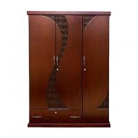 Allex Furniture Wood 3 Palla Almirah AF-WD-A-19