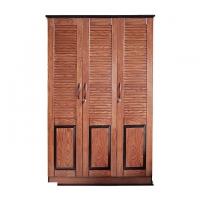 Allex Furniture Wood 3 Palla Almirah AF-WD-A-20