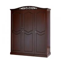 Allex Furniture Wood 3 Palla Almirah AF-WD-A-23