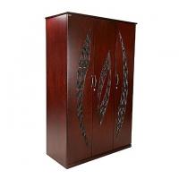 Allex Furniture Wood 3 Palla Almirah AF-WD-A-32