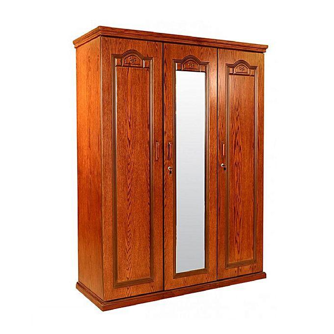 Allex Furniture  Wood 3 Palla Almirah AF-WD-A-34