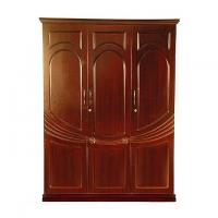 Allex Furniture Wood 4 Palla Almirah AF-WD-A-24