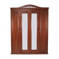 Allex Furniture Wood 4 Palla Almirah AF-WD-A-25