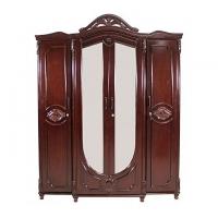Allex Furniture Wood 4 Palla Almirah AF-WD-A-26