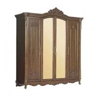 Allex Furniture Wood 4 Palla Almirah AF-WD-A-28