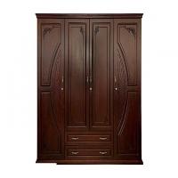 Allex Furniture Wood 4 Palla Almirah AF-WD-A-30