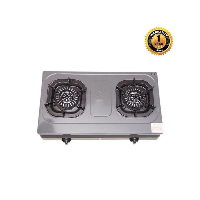 Atom Double Burner Cooking Stove (NG) G0528B