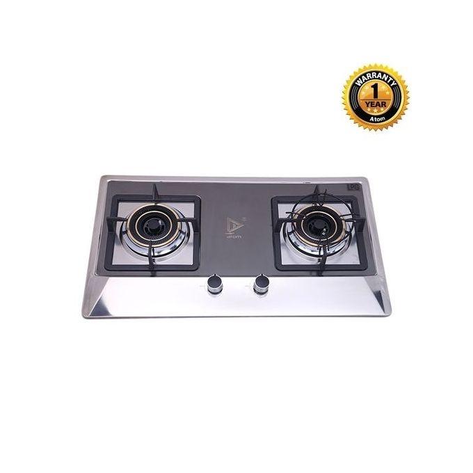 Atom Double Burner Cooking Stove (NG) G1030