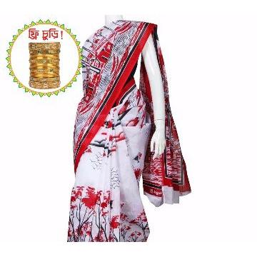 Boishakhi Cotton Womens Sharee
