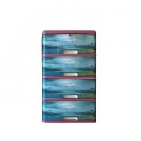 Hamko Plastic Classic Wardrobe-4 Drawer HPF03-04