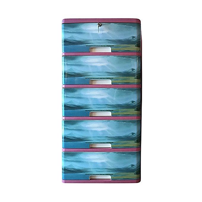 Hamko Plastic Classic Wardrobe-5 Drawer HPF03-04