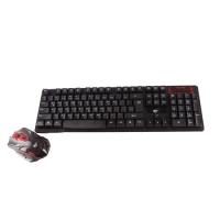 Havit KB585GCM Black Wireless Gaming Keyboard & Mouse Combo with Bangla