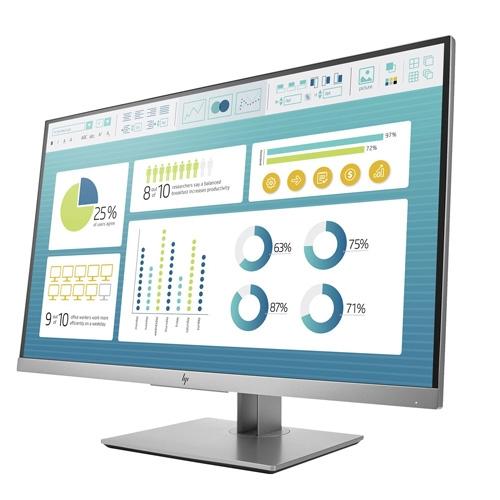HP EliteDisplay E273 27 Inch Full HD Monitor (HDMI, DP, VGA, USB)