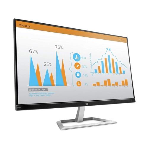 HP N270 27 Inch Black/Silver Monitor (VGA,HDMI) #Y6P11AA