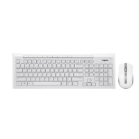 Rapoo 8200P White Wireless Keyboard & Mouse Combo with Bangla