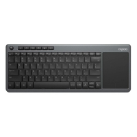 Rapoo K2600 Wireless Touch Black Keyboard with Bangla (Designed for Smart TV)