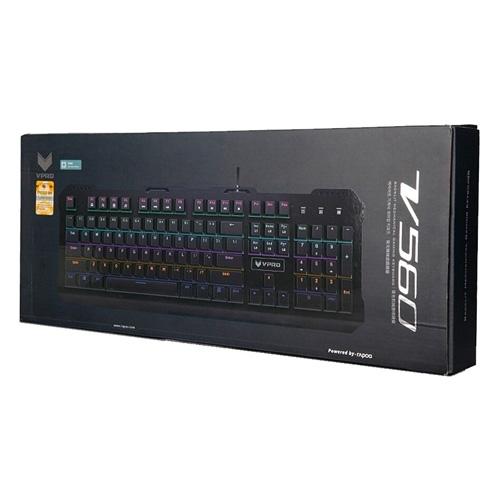 Rapoo V560 Backlit Mechanical Black Gaming Keyboard