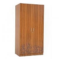 Allex Furniture Melamine Board 2 Palla LB Almirah AF-LB-A-37