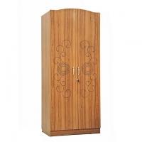 Allex Furniture Melamine Board 2 Palla LB Almirah AF-LB-A-40