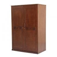 Allex Furniture Wood 2 Palla Almirah AF-WD-A-03