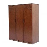 Allex Furniture Wood 3 Palla Almirah  AF-WD-A-17