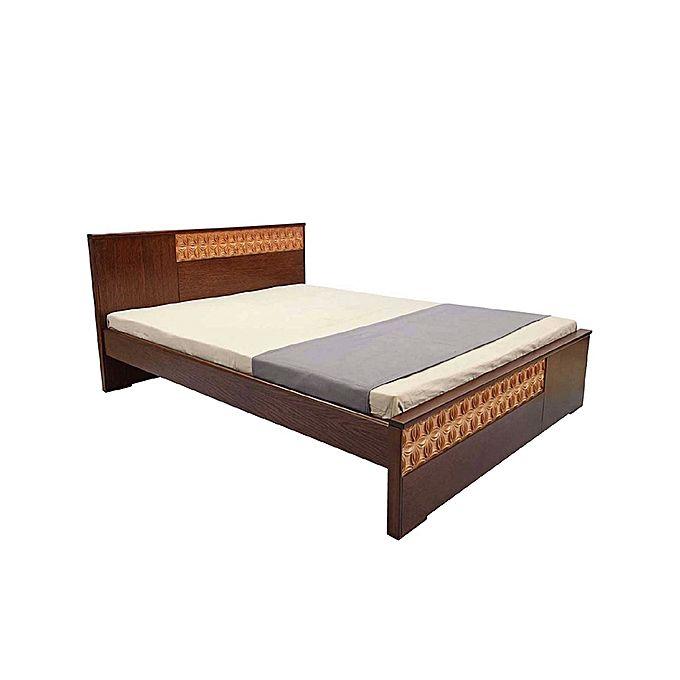Allex Furniture Wood Board Bed AF-WD-B-12