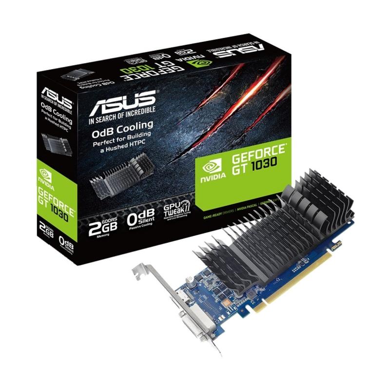 ASUS GeForce GT 1030 2GB GDDR5 low Profile Graphics Card #GT1030-SL-2G-BRK