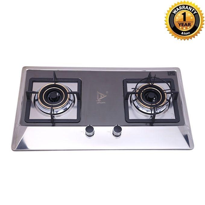 Atom Double Burner Cooking Stove (LPG) G1030