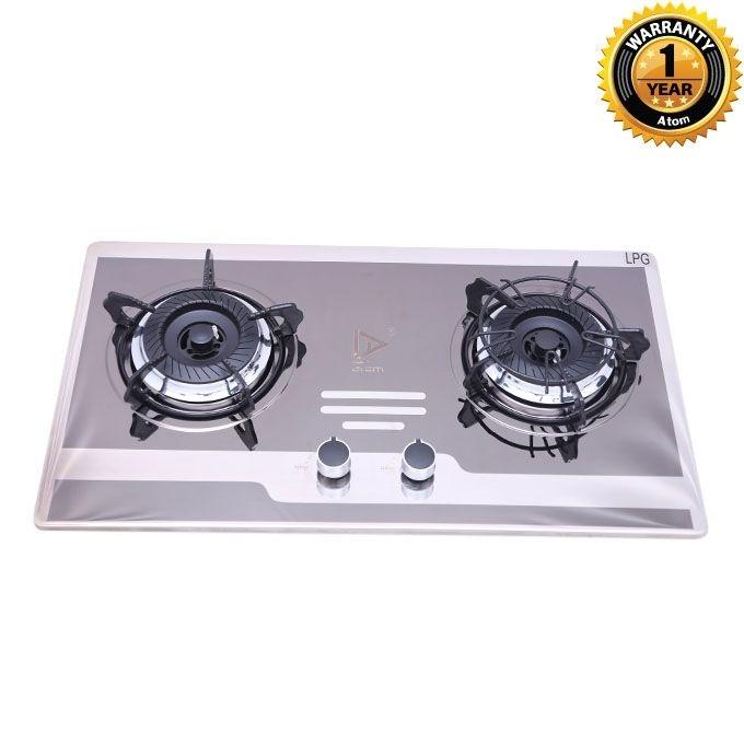 Atom Double Burner Cooking Stove (LPG) G1032