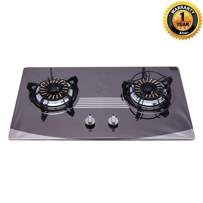 Atom Double Burner Cooking Stove (LPG) G1035