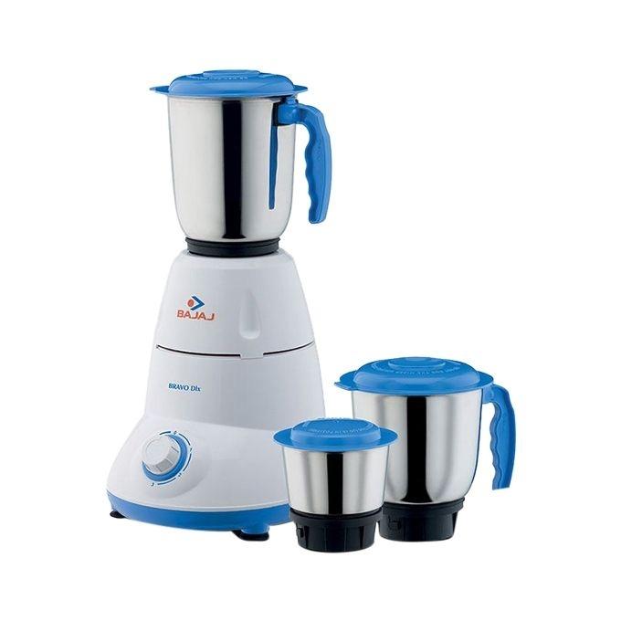 Bajaj Mixer Grinder DLX 3 Jar 500w