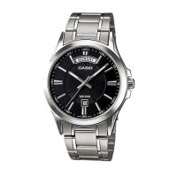 Casio Stainless Steel Analog Watch For Men MTP-1381D-1AV
