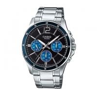 Casio Stainless Steel Chronograph Watch For Men MTP-1374D-2AV