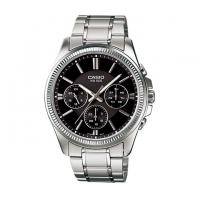 Casio Stainless Steel Chronograph Watch For Men MTP-1375D-1AV