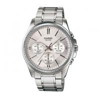 Casio Stainless Steel Chronograph Watch For Men MTP-1375D-7AV