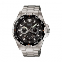 Casio Stainless Steel Wrist Watch For Men MTP-1069D-7AVD