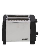Comet Bread Toaster BH 023B