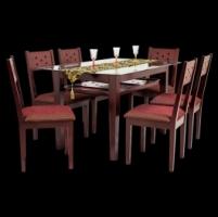 DINING ROOM SET-SINGER 6 Seater