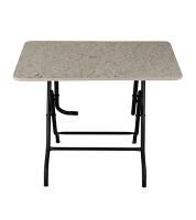 DPL 4 Seated Sq. Melamine Table Marble 95295