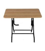 DPL 4 Seated Sq. Melamine Table Sandal Wood 95296