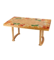 DPL 6 Seat Decorate Plus Table Classic Printed SW 82599