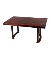 DPL 6 Seat Decorate Plus Table Classic Rose Wood 82452