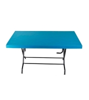 DPL 6 Seat Decorate St/Leg Table Classic SM82453