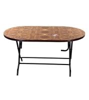 DPL 6 Seated Dorbari Table 95409