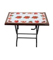 DPL Multi Purpose Folding Table Printed Rose Wood 95285