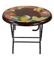DPL Table 4 Seated Ro St/Leg Printed Rose Wood 86268