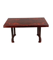 DPL Table 4 Seated Sq Plus Rose Wood 86243