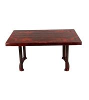 DPL Table 4 Seated Sq Plus Rose Wood 86243